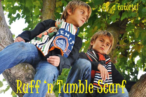 boys scarf tutorial